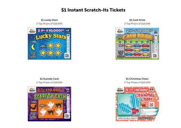 $1 Instant Scratch