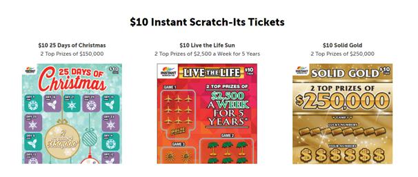 $10 Instant Scratch