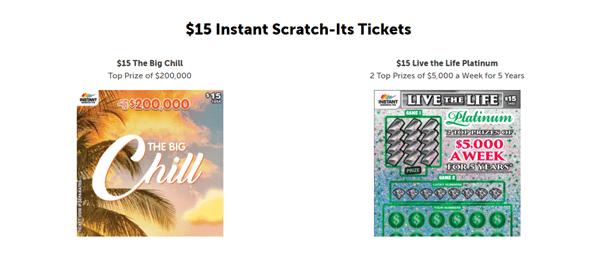 $15 Instant Scratch