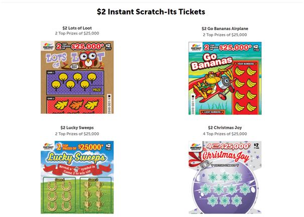$2 Instant Scratch