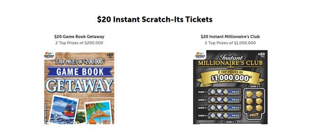 $20 Instant Scratch