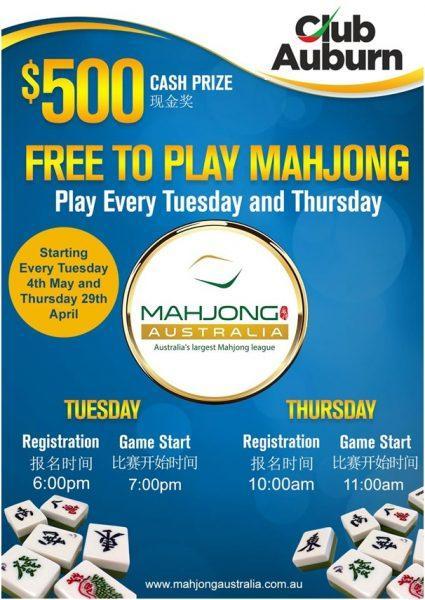 Mahjong at Australia