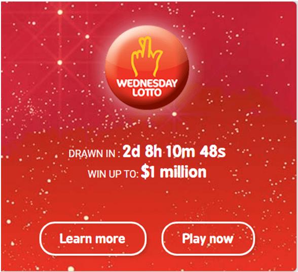 Wednesday Lotto Jackpot